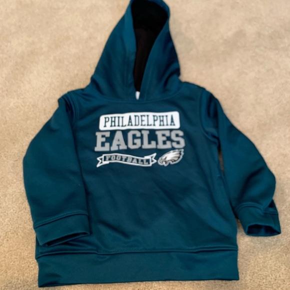 check out 6629a a2d84 Toddler Philadelphia Eagles sweatshirt